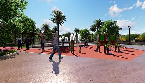 Karaköprü Belediyesi 3372 Park Projesi