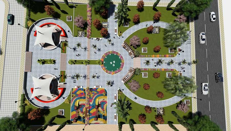 Karaköprü Belediyesi 3380 Park Projesi