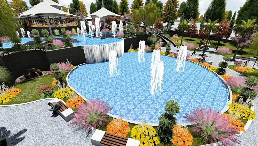 Karaköprü Belediyesi 3384 Park Projesi