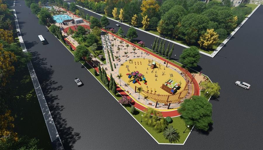 Karaköprü Belediyesi Maşuk MH. Park Projesi