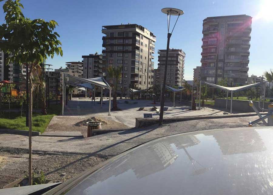 Urfa Belediye Park Peyzaj Projemiz